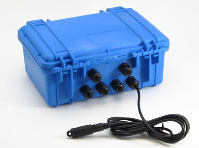 EC55 Weatherproof Case with attached cable option for XR5 Data Logger