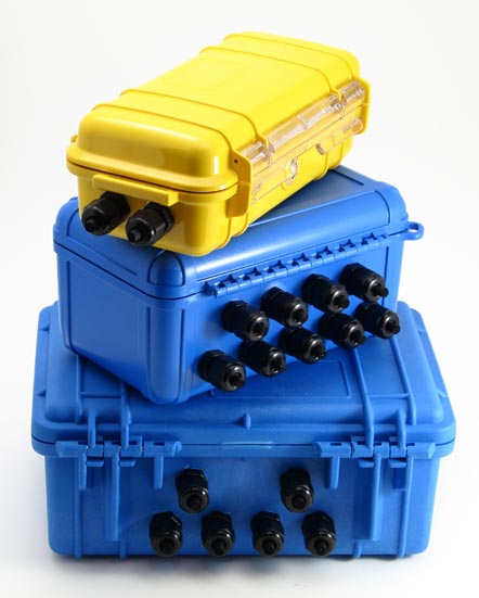 Weatherproof Cases for XR5 Data Logger