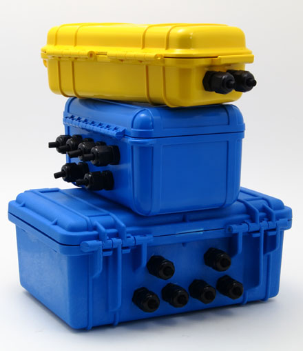 Weatherproof Cases for XR440 Data Logger