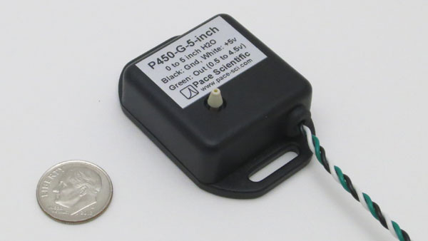 P450 Air Pressure Sensor for Pace Data Loggers