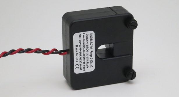 Low Range Ac Current Sensors Self Powered Linear Vdc Output